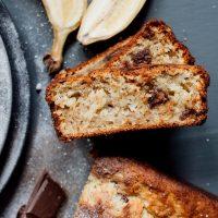 Banana and chocolate bread recipe