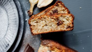Banana and chocolate bread recipe