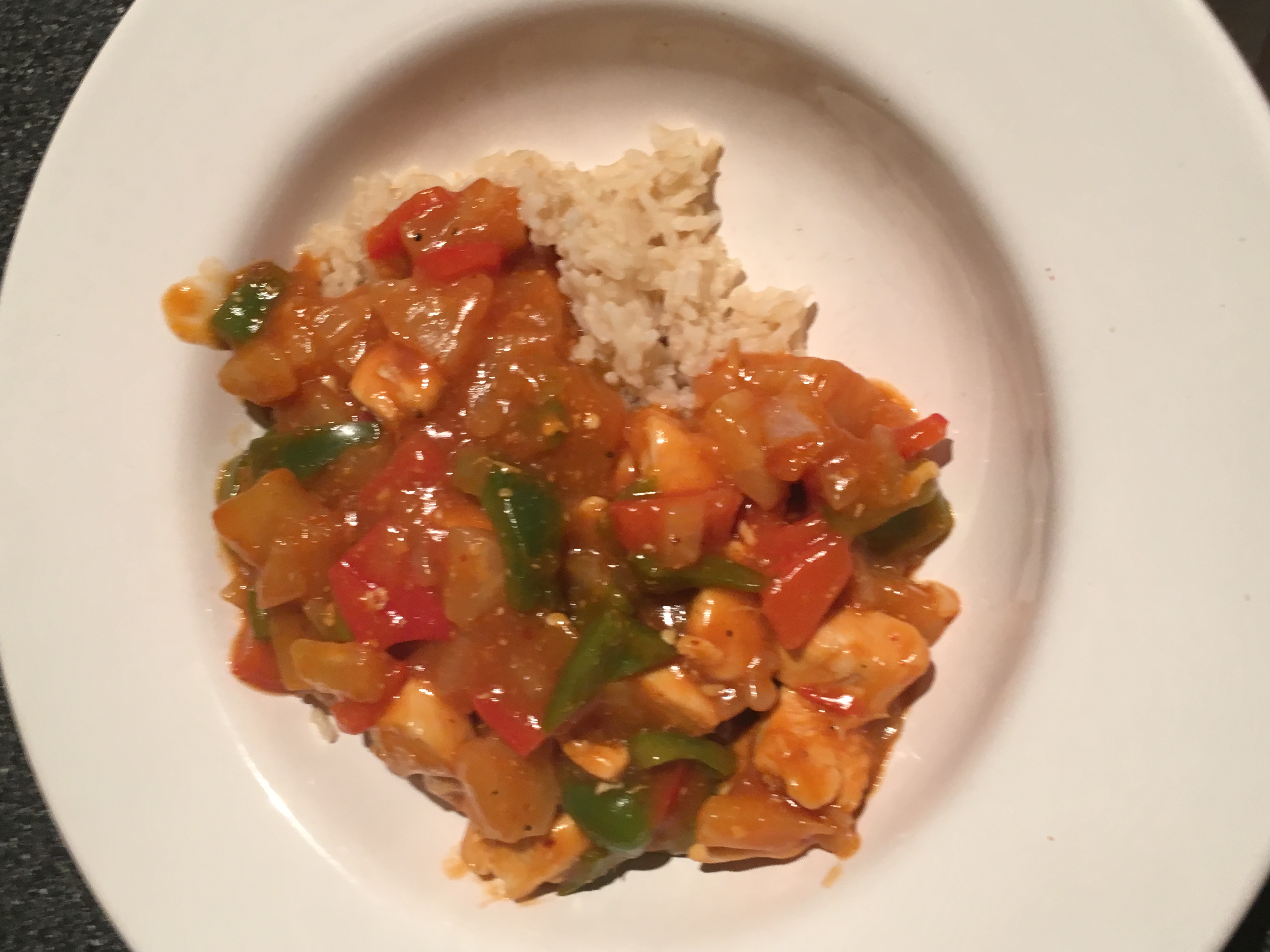sweet & Sour chicken, cheap, easy, family friendly
