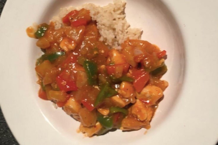 An Easy Sweet & Sour Chicken Recipe For Just 58p