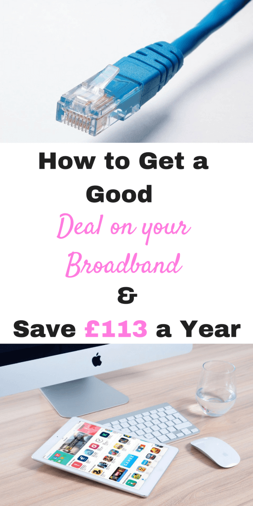 How to save £113 a year on your broadband and how to get a good deal by Laura at Savings 4 Savvy Mums. #BroadbandSavings #CheapBraodband