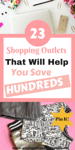 Looking to save money and still get what you want? Here are 23 shopping outlets that include fashion, brand and designer outlets. These factory store shops are the place to go to get the very best deals online by Laura at Savings 4 Savvy Mums. #ShoppingOutlets #ShoppingOutletsGifts #Outlets #OutletWebsites #FactoryStores #BrandOutlets