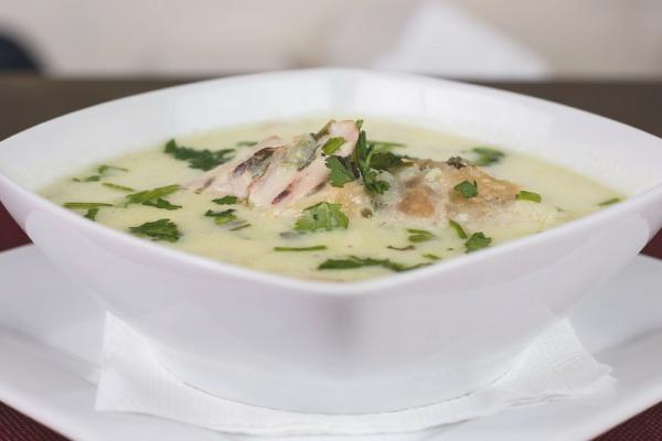Turkey Carcass Soup