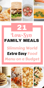 Here is a 7 day meal plan on Slimming World to help you loose weight on a budget. These are all family friendly recipes and includes 21 meals and a free meal plan to help keep you on budget by Laura at Savings 4 Savvy Mums. #7DayMenu #LooseWeight #7DayMenuOnABudget #7DayMenuFamily #SlimmingWorldRecipes #SlimmingWorldPlan #SlimmingWorldMeals #LowSyn #FamilyMeals #ExtraEasy #SlimmingWorldExtraEasy