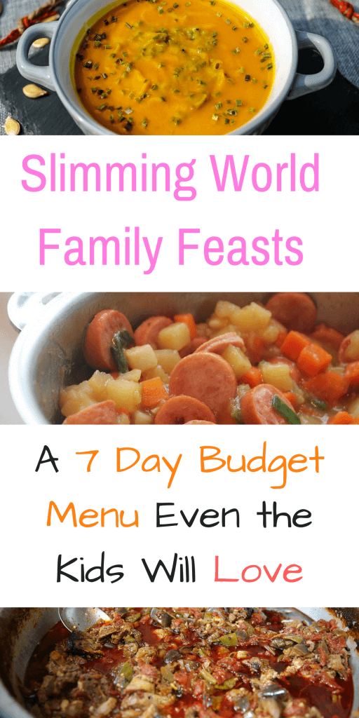 Here are 21 family friendly Slimming World feasts that require a small budget but even the kids will eat them. This post includes a FREE Slimming World 7 day budget menu and shopping list that can also be printed out for ease by Laura at Savings 4 Savvy Mums. #HealthyEatingOnABudget #HealthyEatingtoLoseWeight #HealthyEatingRecipes