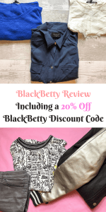 BlackBetty Review Including a 20% Off BlackBetty Discount Code by Laura at Savings 4 Savvy Mums. #BlackBetty #Clothes #Deals