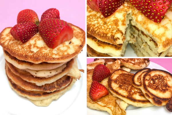 A Easy Pancake Recipe Without Eggs