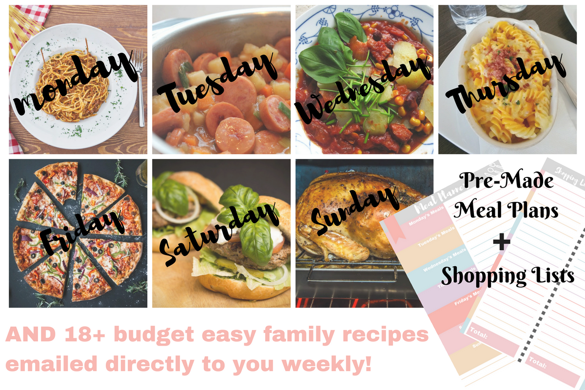 Budget My Meals Subscription