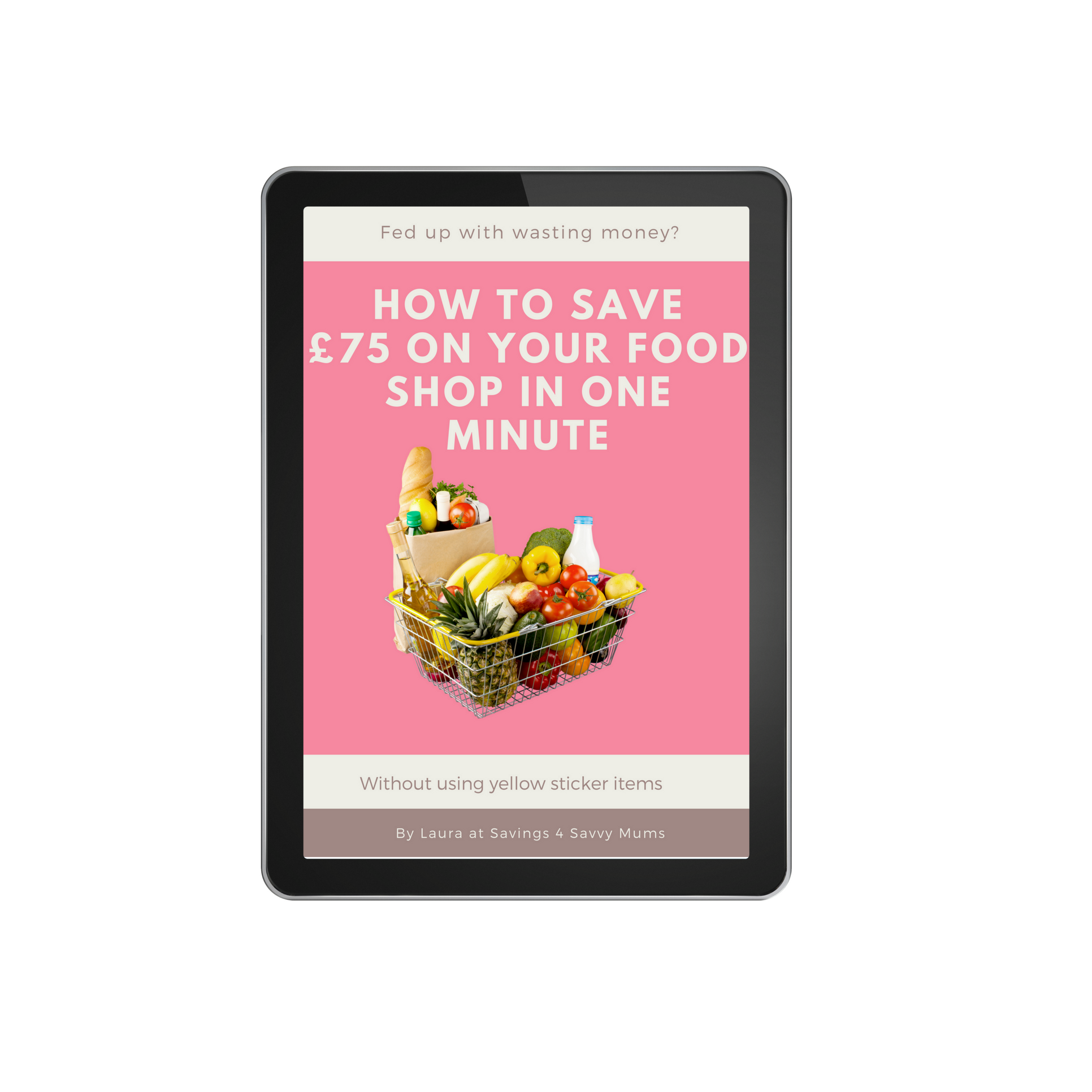 How To Save £75 On Your Food Shop In One Minute