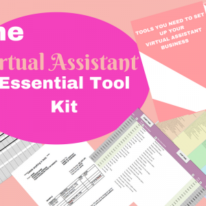 Virtual Assistant Essential Tool Kit Image