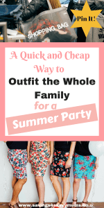 A Quick and Cheap Way to Outfit the Whole Family For A Summer Party-2