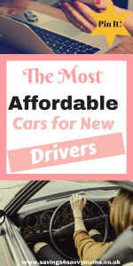 The Most Affordable Cars for New Drivers
