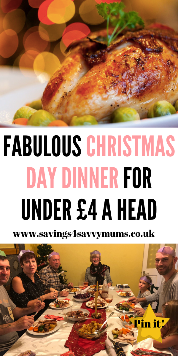 This is how to cook the best Christmas day dinner. It may be on a budget but no one will now if you use our free Christmas dinner shopping list too by Laura at Savings 4 Savvy Mums #ChristmasDinner #ChristmasFoods
