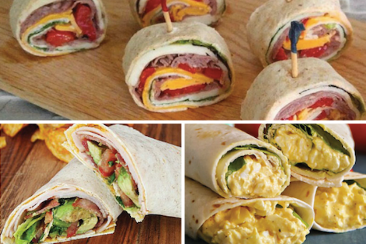 19 Quick & Easy Sandwich Wrap Recipes