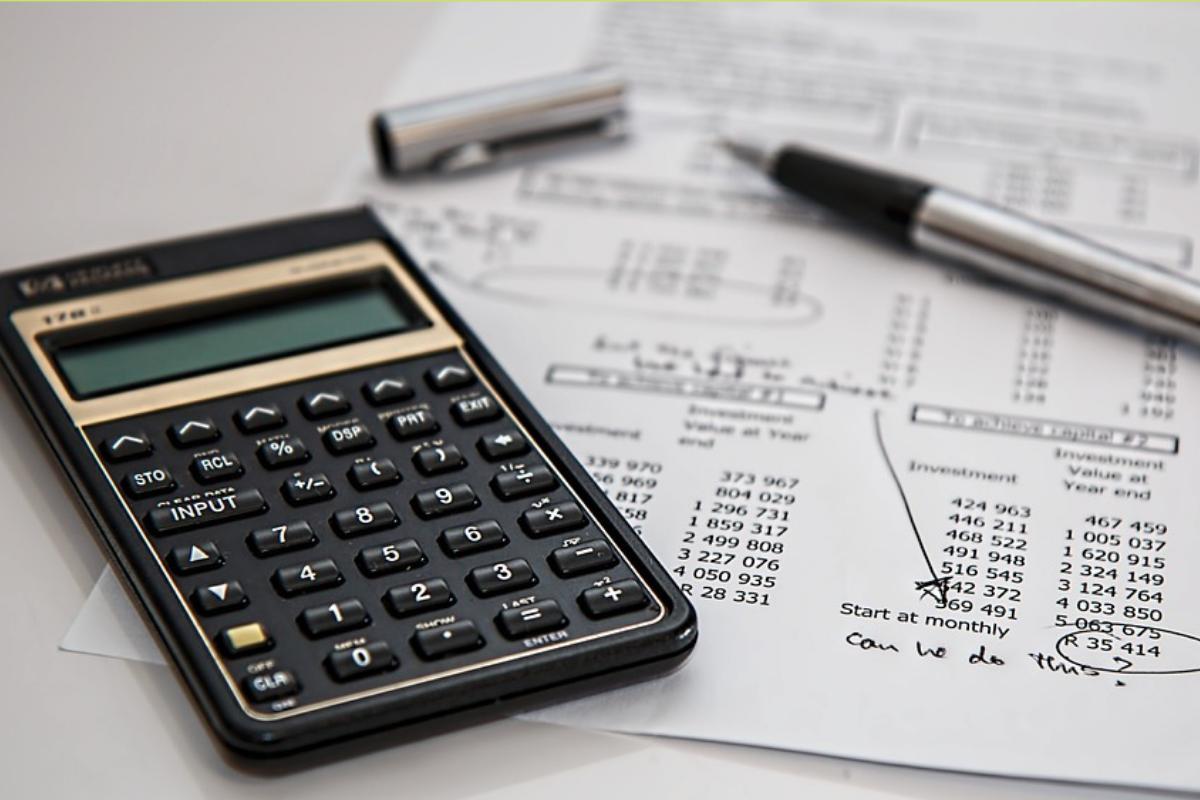 paper, pen and calculator