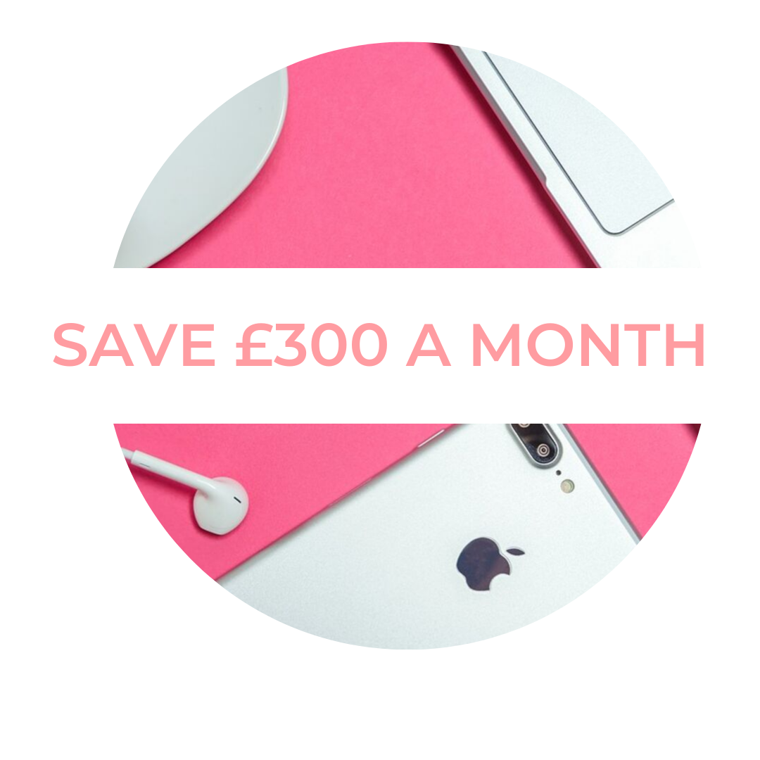 SAVE £300 A MONTH CHALLENGE