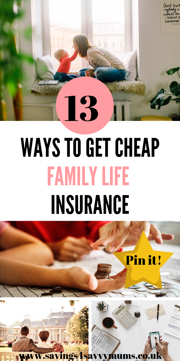 This is how to find cheap family life insurance as a parent. It's important to have and while we don't want to think about the worst sometimes we need too by Laura at Savings 4 Savvy Mums #moneysaving #savingmoney #FamilyLife #Parenting