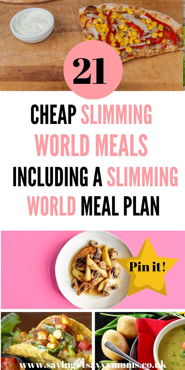 Here are 21 Cheap Slimming World Meals including a Slimming World Meal Plan for the whole family. These Slimming World quick meals are easy to cook too by Laura at Savings 4 Savvy Mums #SlimmingWorld #SlimmingWorldrecipes #Slimmingworlddinner