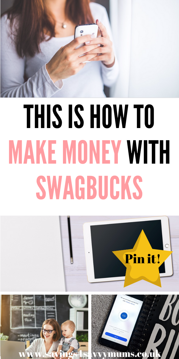 This Swagbucks review explains how to use it, asks if Swagbucks is safe and if it's legit. We also give you tips on other ways you can make money from home by Laura at Savings 4 Savvy Mums #makemoneyonline #makemoney #moneymaking #makemoneyathome