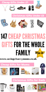 This Christmas gift guide is for the whole family including ideas for him, her and for kids by Laura at Savings 4 Savvy Mums #ChristmasGiftGuides #GiftGuides #ChristmasGiftGuidesforher