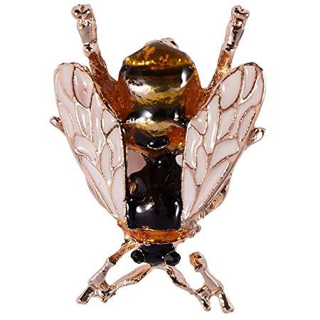 TOOGOO Cute Bee Fly Insect Brooch*