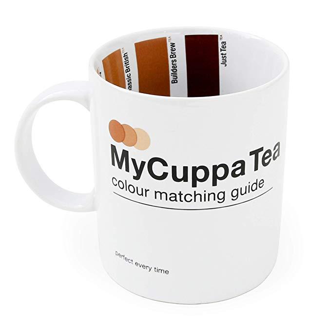 SUCK UK MY CUPPA TEA HOT DRINKS MUG*