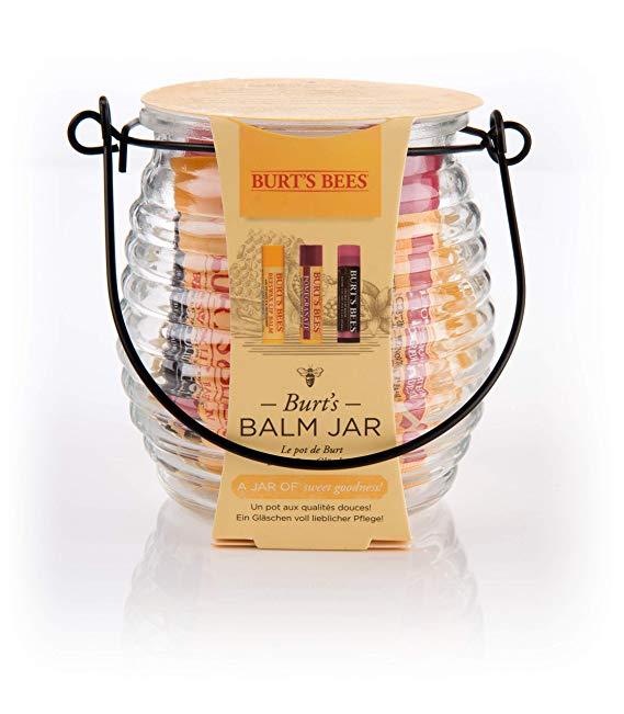 Burt's Bees Balm Jar 100% Natural 3 Piece Gift Set*