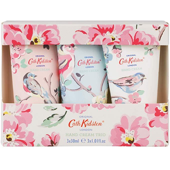 Cath Kidston Assorted Blossom Birds Hand Cream Trio*