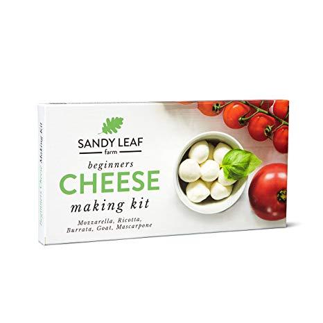 Beginners Cheese Making Kit - Make your own Goat, Mozzarella, Ricotta, Mascarpone, Burrata*