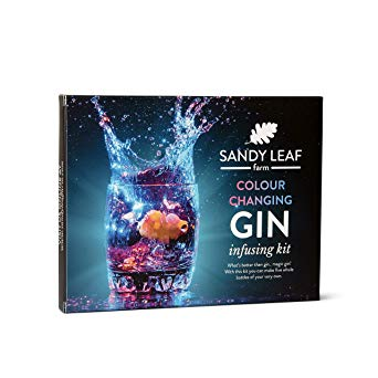 Colour Changing Gin Infusing Kit - Make a whopping Five Bottles of Your own Magically Colour Changing Gin*