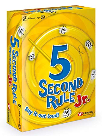 5 Second Rule Junior, Card Game*