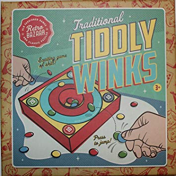 Traditional Tiddlywinks Tiddly Winks Family Game*