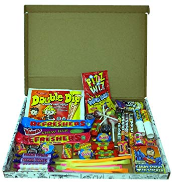 Letterbox Buster: Packed Full Of Your Favourite, Mouthwatering Retro Sweets From Your Childhood Sweetshop*