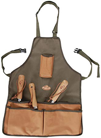 Esschert design GT06 58 x 48 x 1cm Short Textile Garden Apron - Green*