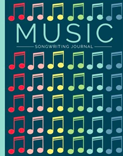 Music Songwriting Journal: Blank Sheet Music, Lyric Diary and Manuscript Paper for Songwriters and Musicians (Gifts for Music Lovers)*