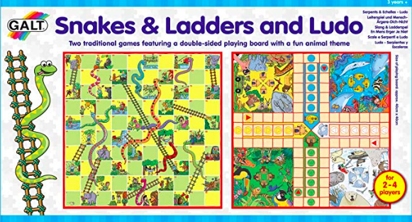 Snacks and Ladders Ludo Game Set*