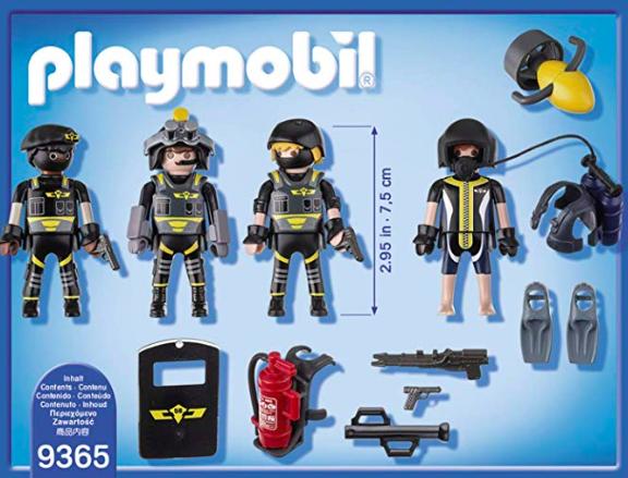 Playmobil SWAT Team*