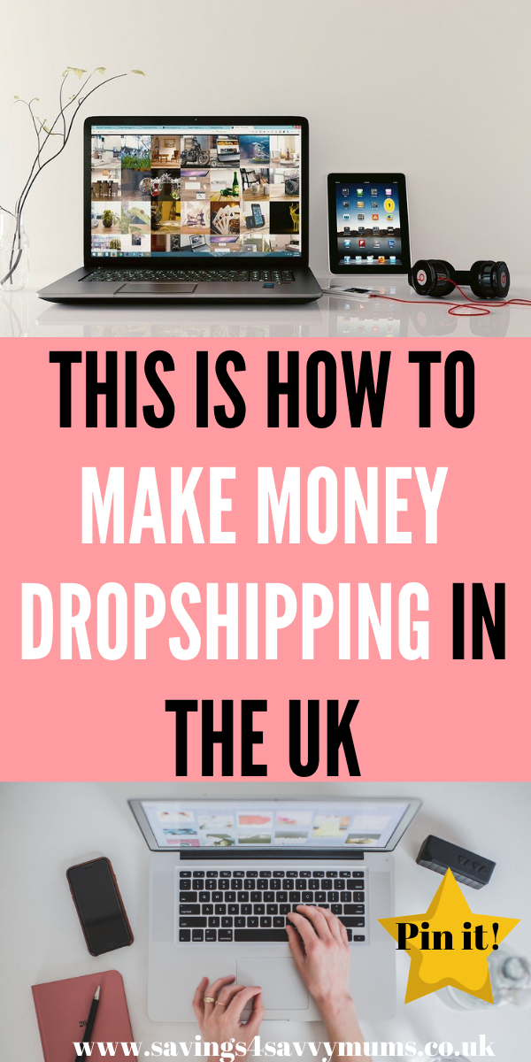 If you're looking to start dropshipping in the UK this year then this post will help you make money and explain how to start working from home by Laura at Savings 4 Savvy Mums #dropshippingUK #MakeMoney #eBayDropshipping