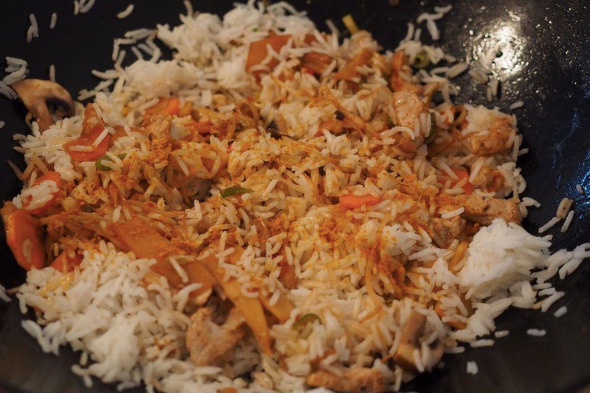 turkey stir fry with soy sauce
