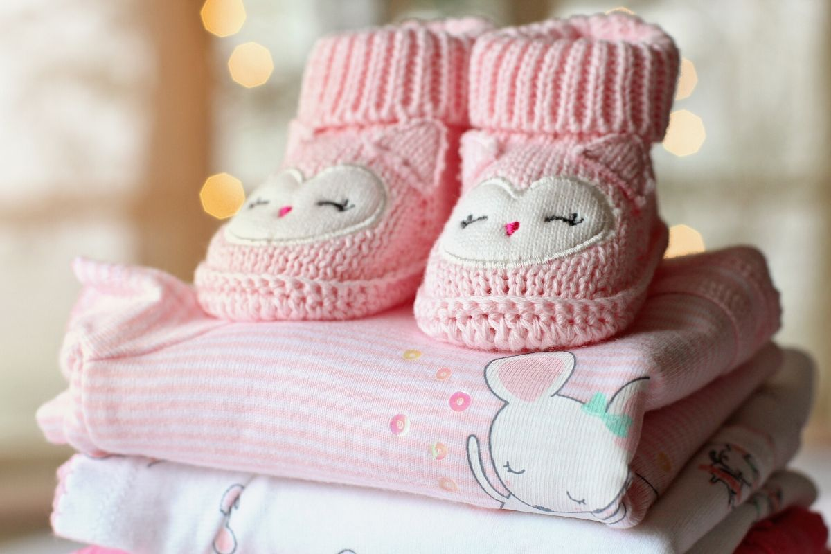 Baby booties and blankets