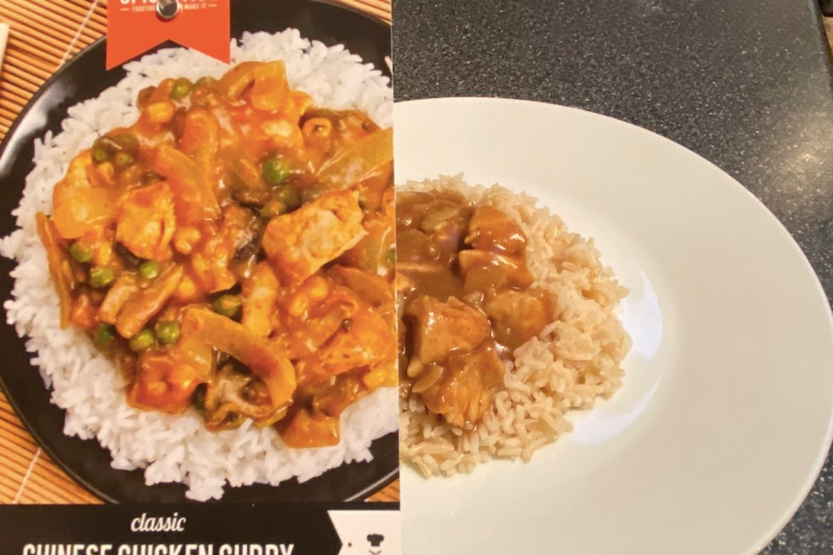 Spicentice chinese chicken curry packet