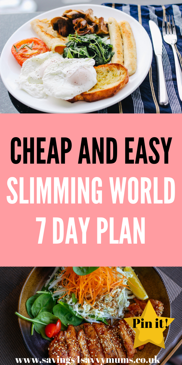 Here are 21 Cheap Slimming World Meals including a Slimming World Meal Plan for the whole family. These Slimming World quick meals are easy to cook too by Laura at Savings 4 Savvy Mums