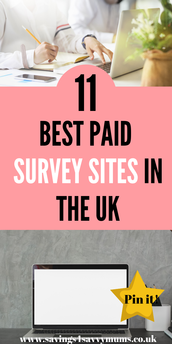 Here are 11 of the best paid survey sites that can help you earn money online. Find out which survey sites are the best and which one's to avoid by Laura at Savings 4 Savvy Mums