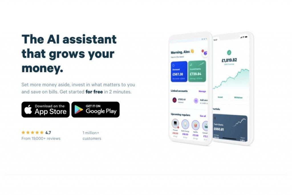 Plum website homepage