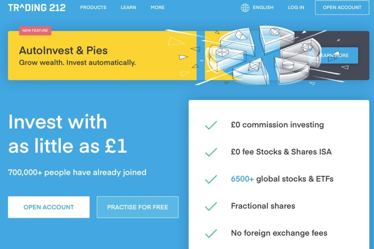 Trading 212 Review: This Is How To Invest With Just £1