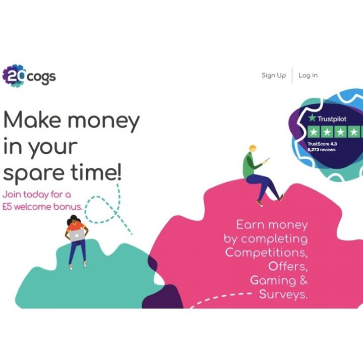 20Cogs Review: How to Make £10 in 2 Minutes