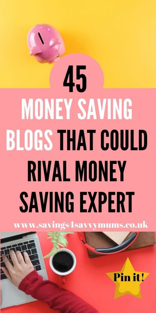 Here are 45 money saving blogs that are better than any other big money saving website. Find out how much you could save by Laura at Savings 4 Savvy Mums