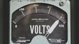 Volt gauge