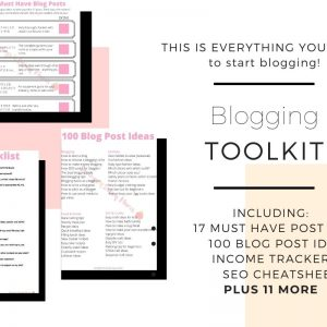 Blogging Toolkit