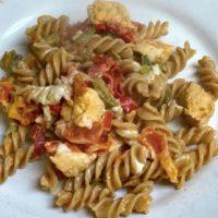 Creamy Chicken Pepper pasta